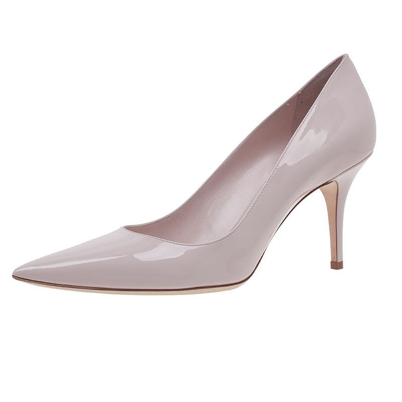 Dior Nude Patent Leather Pumps Size 40