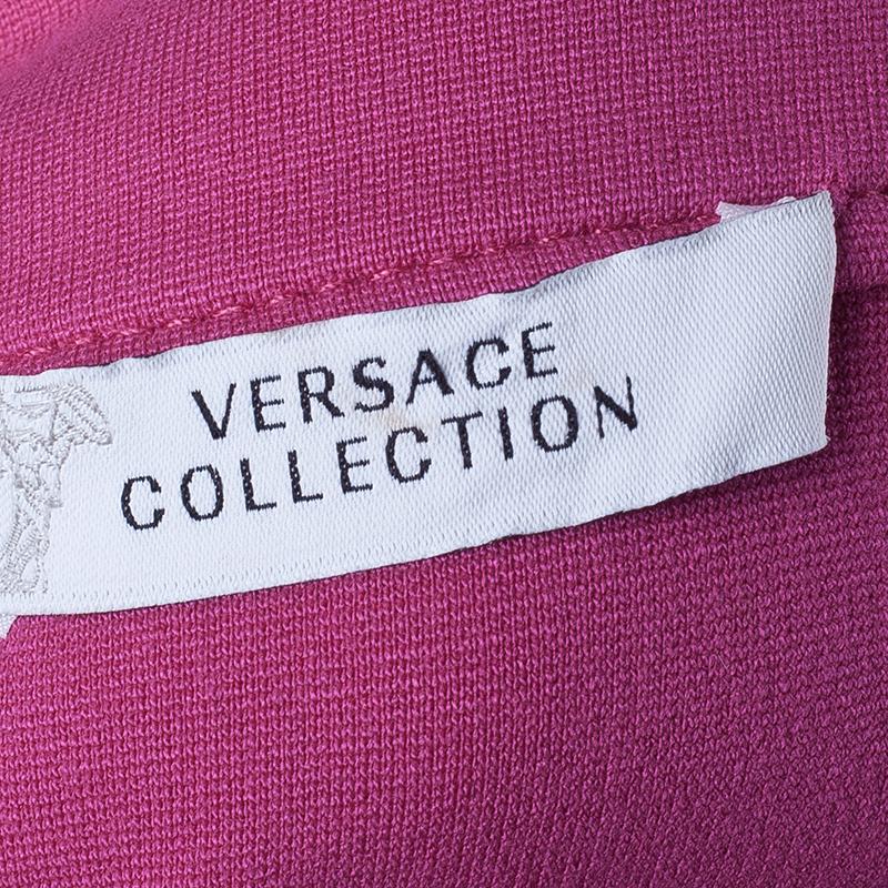 Versace Fuschia Flare Dress M