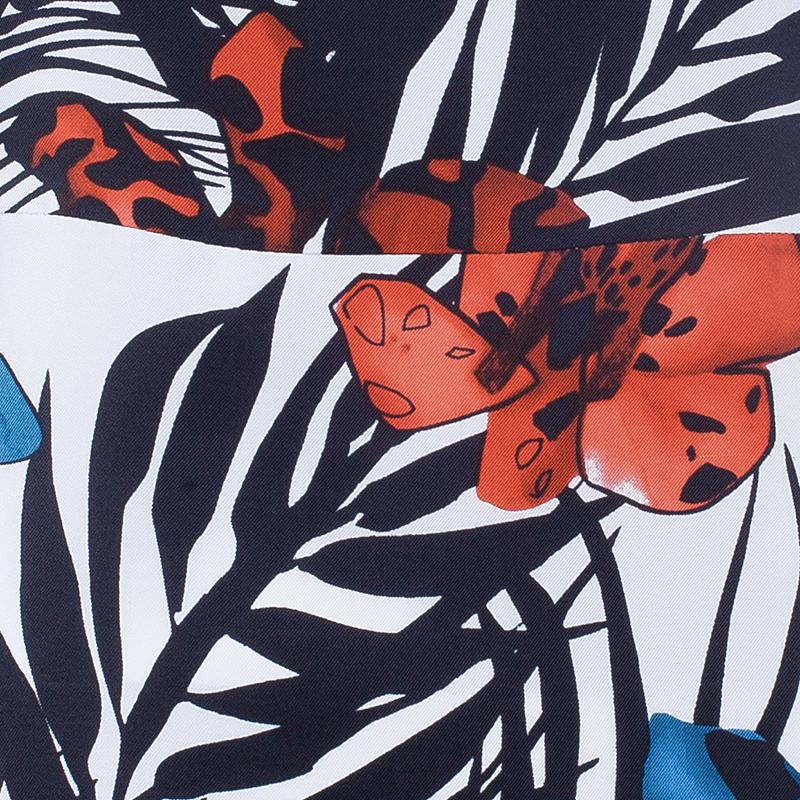 See by Chloe Floral Print Silk Dress S