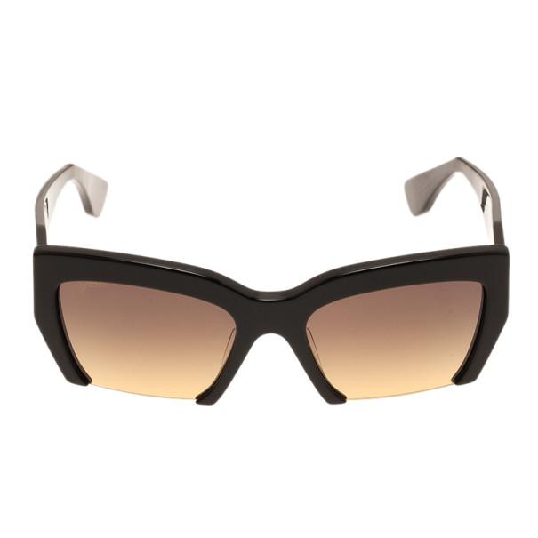 Miu Miu Black Rectangle Sunglasses