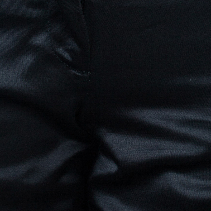 Just Cavalli Black Satin Trouser S