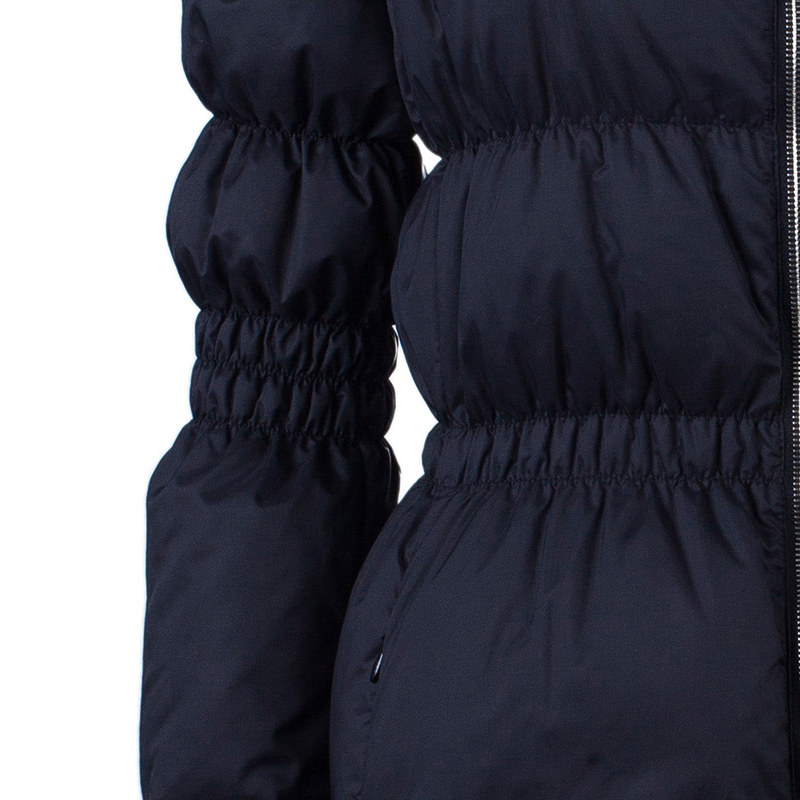 Emilio Pucci Black Down Coat M