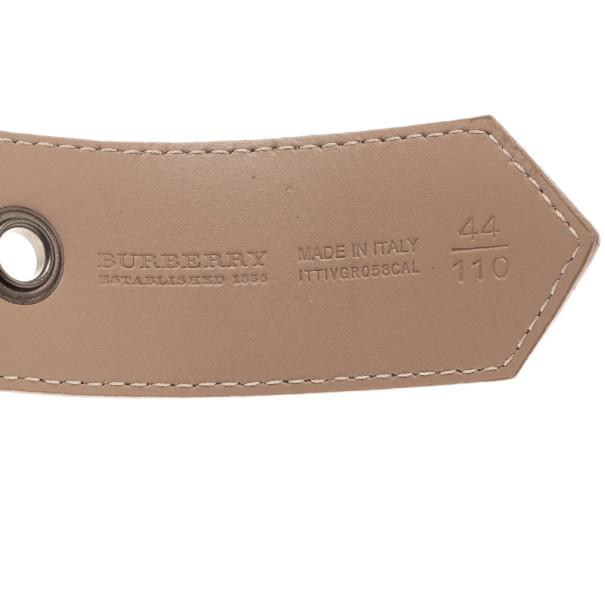 Burberry Novacheck Canvas Belt 110CM