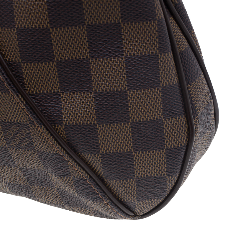 Louis Vuitton Brown Damier Ebene Coated Canvas Thames PM