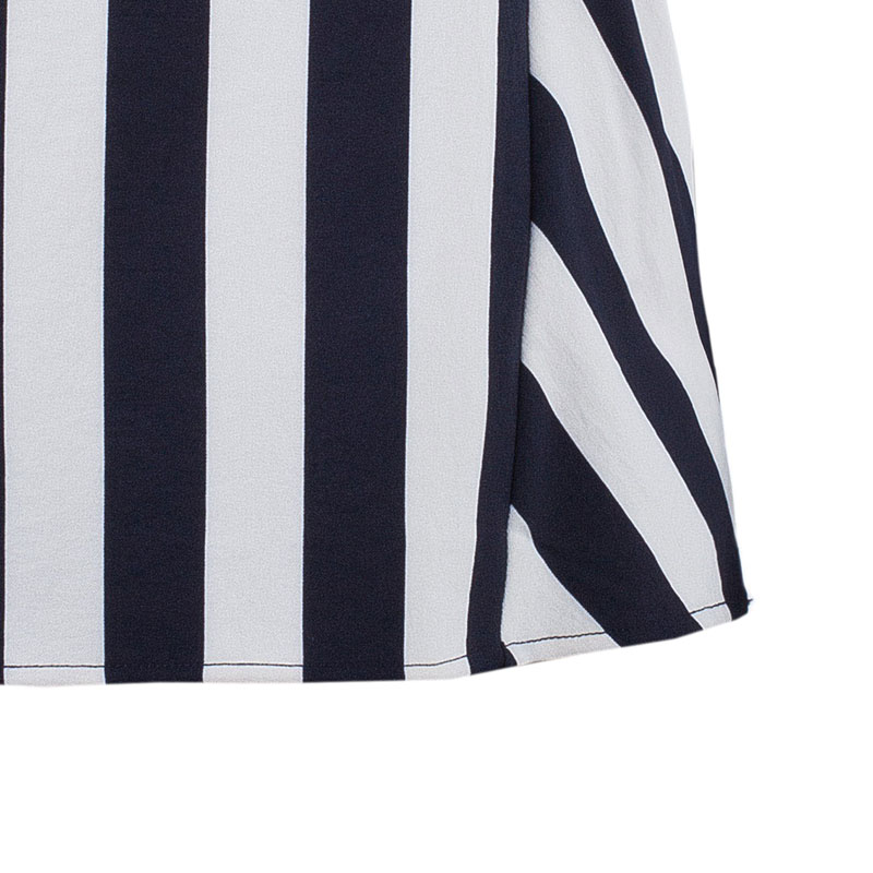 Marc by Marc Jacobs Monochrome Striped Top S