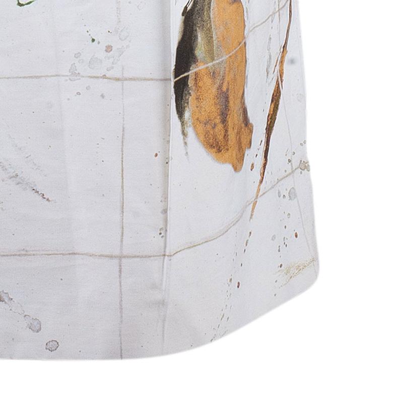 Max Mara Studio Watercolor Printed Skirt M