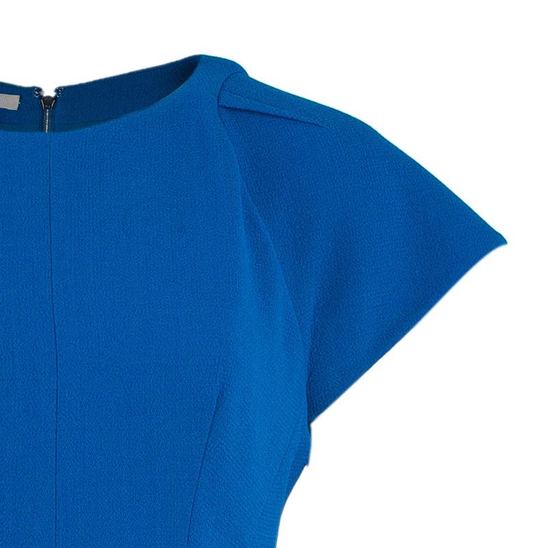 Antonio Berardi Cerulean Sheath Dress M