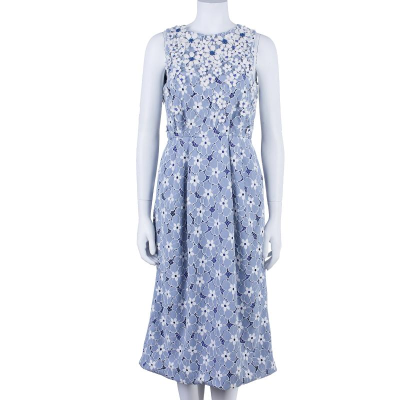 Matthew Williamson Floral Textured Dress M