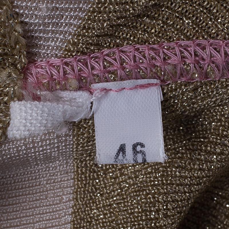 M Missoni Multi-print Maxi Dress L