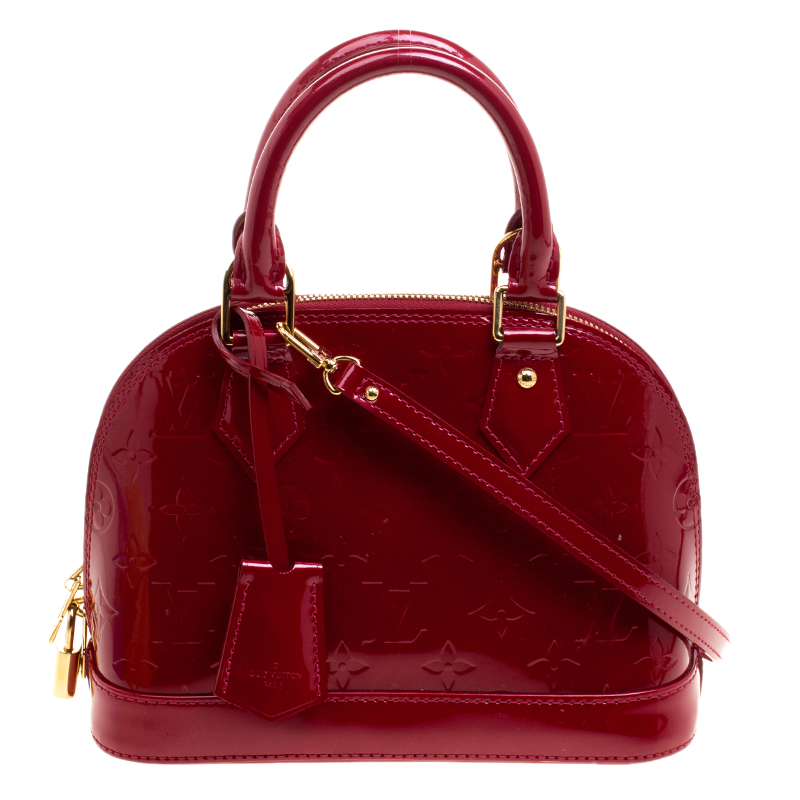 Louis Vuitton Indian Rose Monogram Vernis Alma Bb Bag Nextprev Prevnext