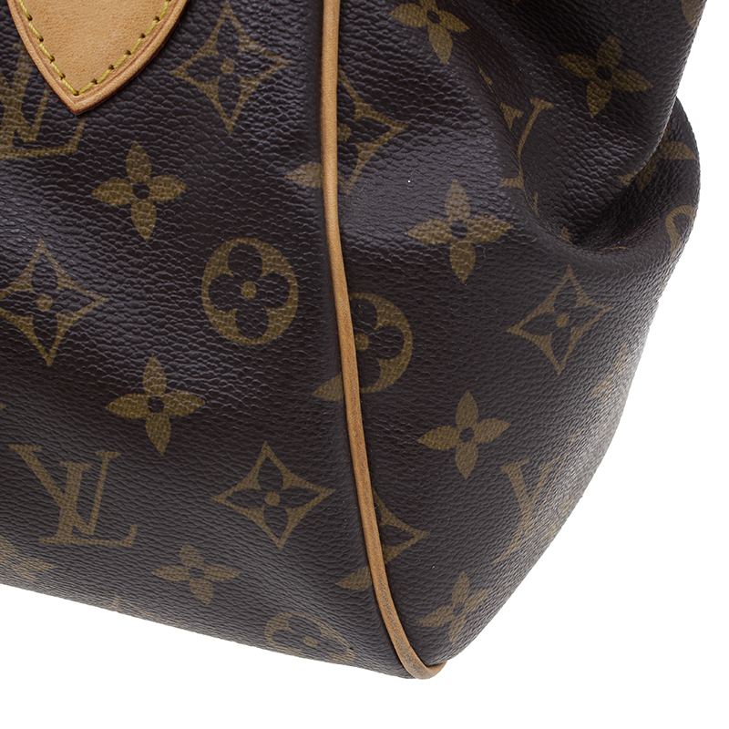 Louis Vuitton Brown Monogram Canvas Tivoli PM