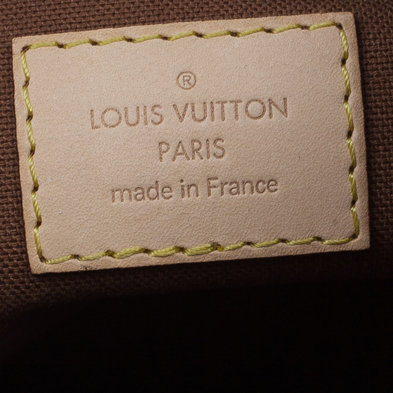 Louis Vuitton Brown Monogram Coated Canvas Thames PM