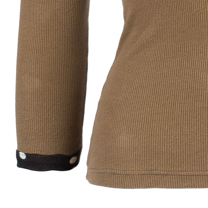 D&G Brown Knit Top S