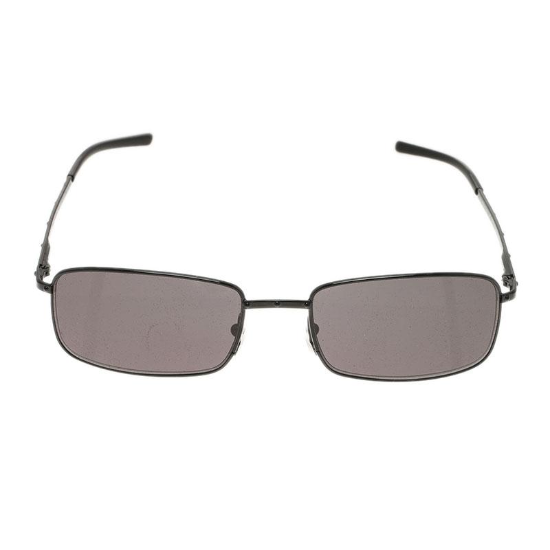 Gucci Black GG 1753 Rectangle Sunglasses