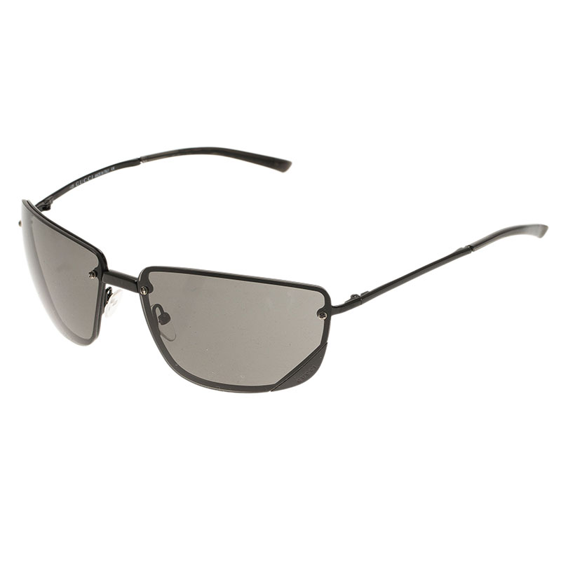 Gucci Black GG 1692 Rimless Sunglasses