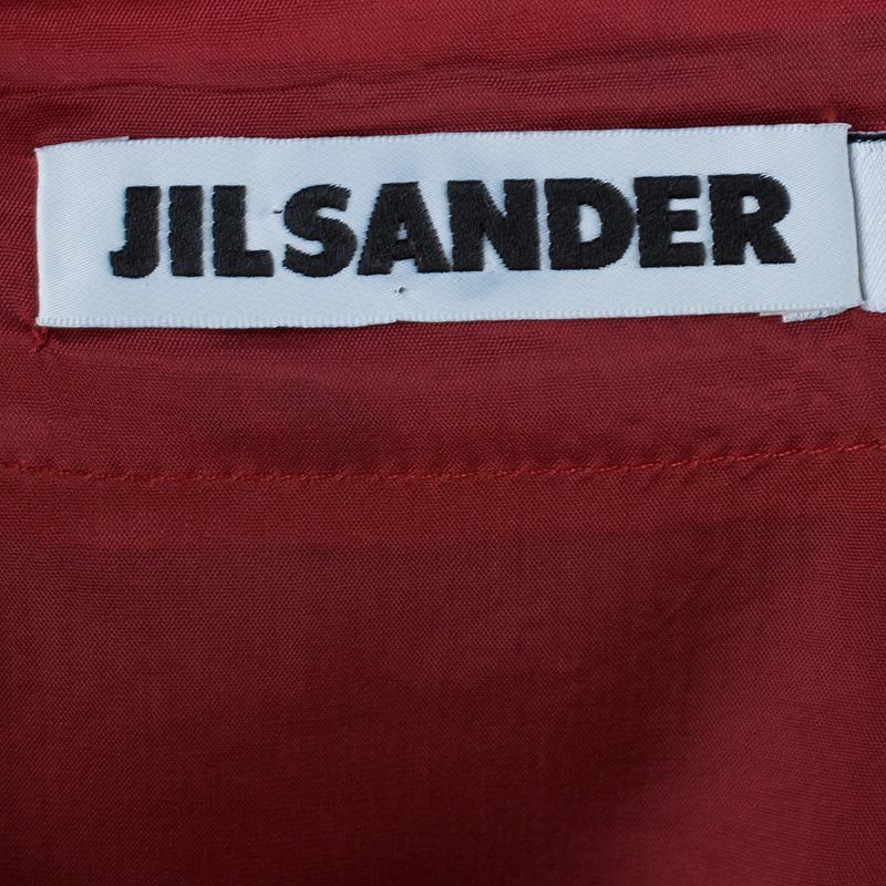 Jil Sander Cashmere Belted Top S