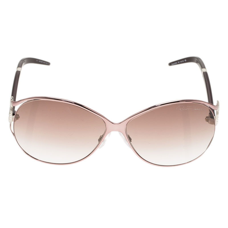 Roberto Cavalli Purple Zinnia Sunglasses