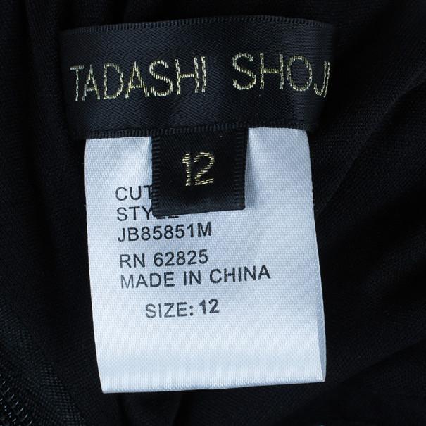 Tadashi Shoji Lace Embellished Cocktail Dress L