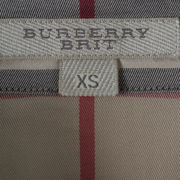 Burberry Novacheck Button Down Shirt XS