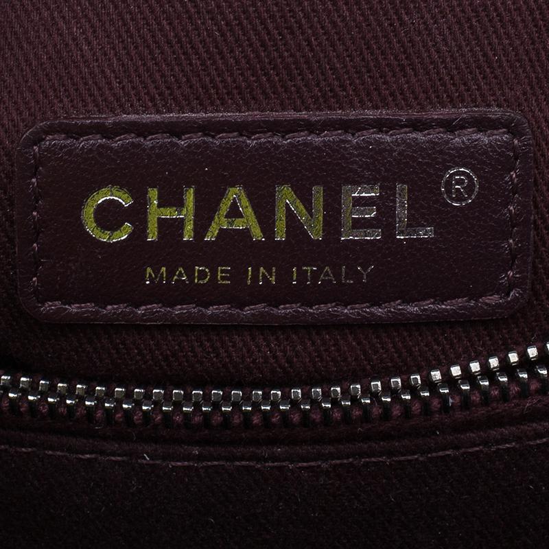 Chanel Black Calfskin Coco Handle Flap Bag