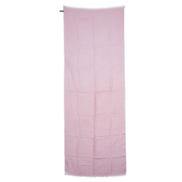 Louis Vuitton Light Pink Monogram Stole