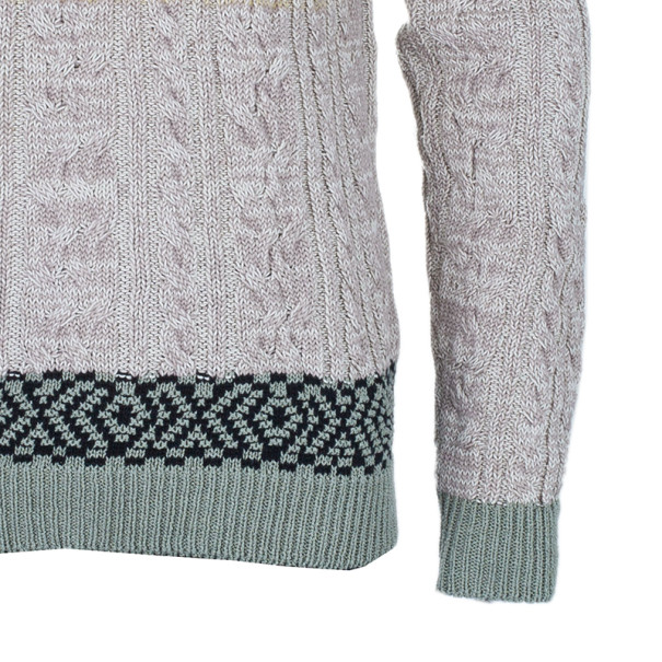 Missoni Men's Cable Knit Degrade Sweater M
