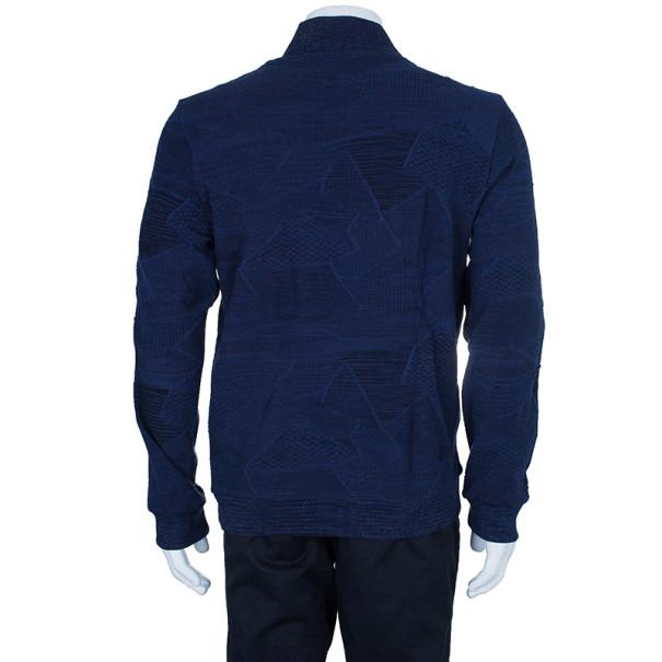 Missoni Men's Knit Zip Front Jacket L