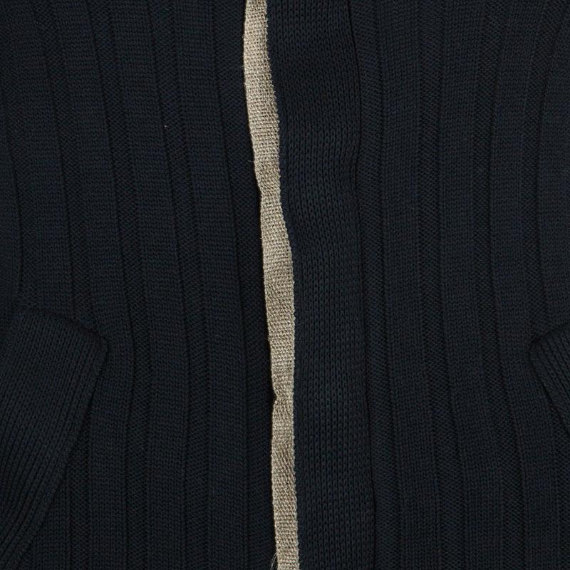 Dolce and Gabbana Men's Rib Knit Cardigan S