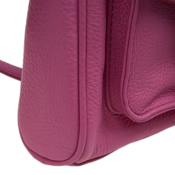 Marc by Marc Jacobs Pink Leather Small Crossbody Bag