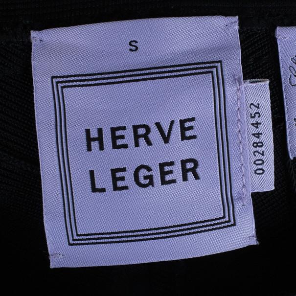 Herve Leger Joon Paneled Bandage Leggings S