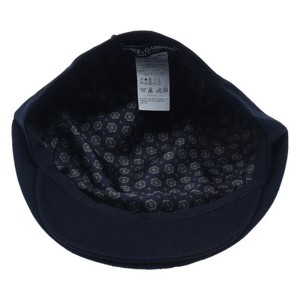 Dolce and Gabbana Navy Cap Size 58