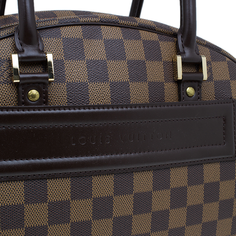 Louis Vuitton Damier Ebene Nolita Satchel Bag