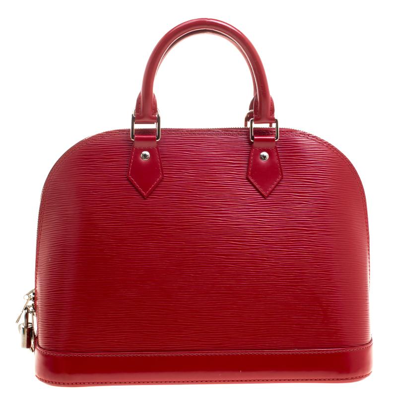 f4d924d36f0b Louis Vuitton Carmine Epi Leather Alma PM Bag. nextprev. prevnext .