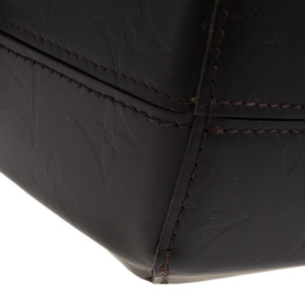 Louis Vuitton Brown Monogram Vernis Glace Fonzie Messenger Bag