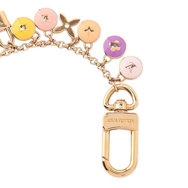 Louis Vuitton Pink Pastilles Bag Charm