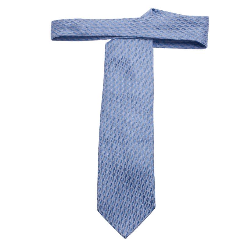 Ermenegildo Zegna Light Blue Silk Tie