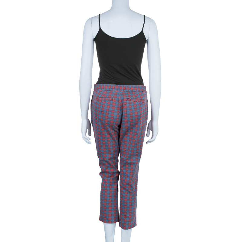 Marc by Marc Jacobs Geometric Printed Pants M