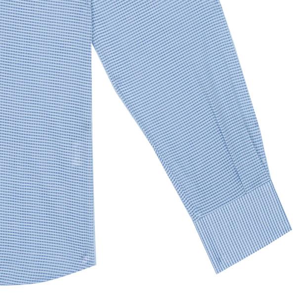 Fendi Light Blue Check Shirt EU40