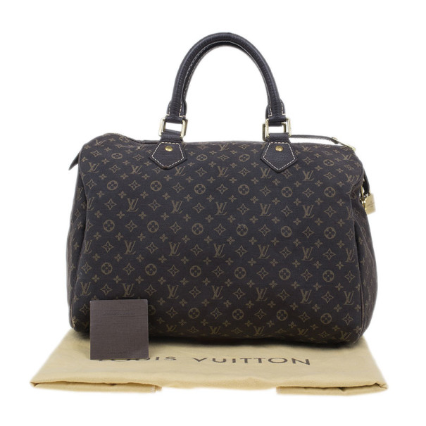 Louis Vuitton Monogram Mini Lin Speedy 30