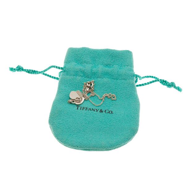 Tiffany & Co. Return to Tiffany Mini Double Heart Tag Pendant
