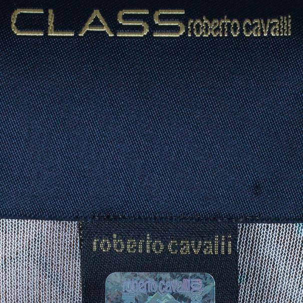 CLASS by Roberto Cavalli Paisley Print Top S