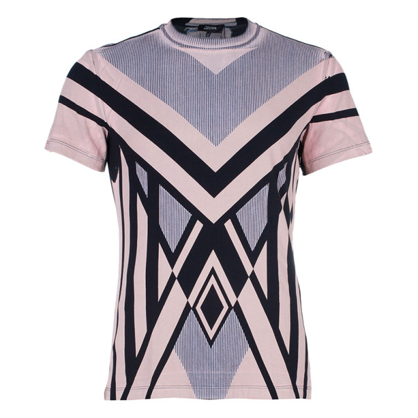 Jean Paul Gaultier Abstract Print Men's T-Shirt L