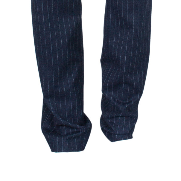 Jean Paul Gaultier Mens Pinstriped Trousers M