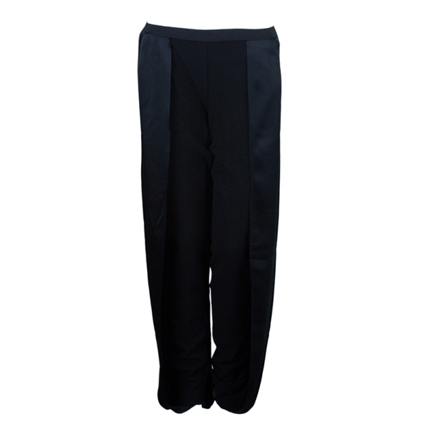 Chalayan Silk Split Wide Leg Pants M