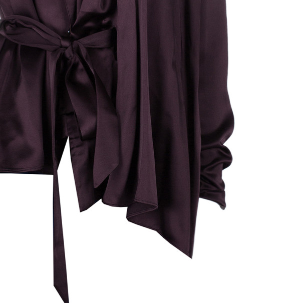 Chalayan Amaranth Robe Top S