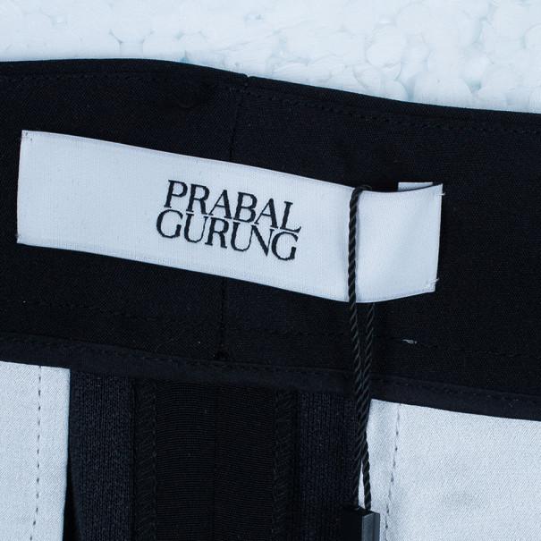 Prabal Gurung Wide Leg Tuxedo Pants M
