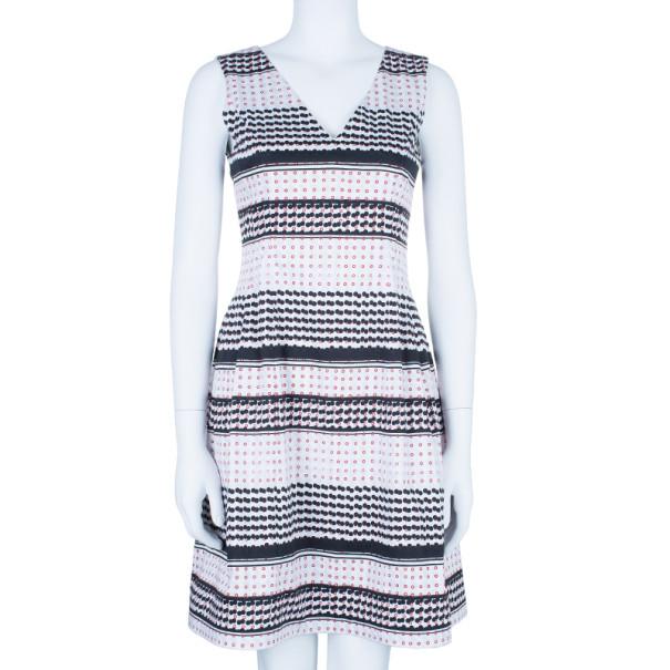 Prabal Gurung Dotted Seam Dress S