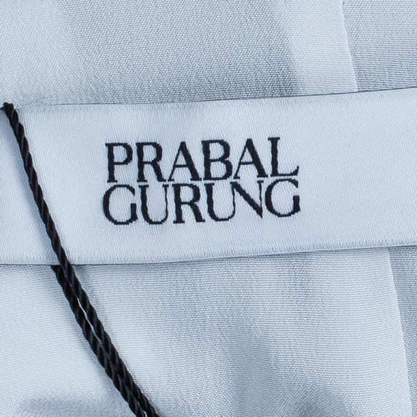 Prabal Gurung Floral Printed Bustier Dress S