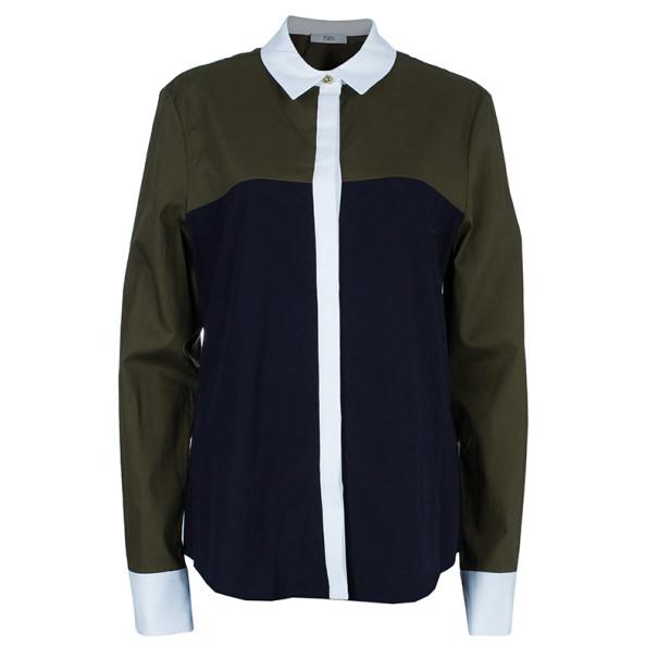 Prabal Gurung Colorblock Shirt L