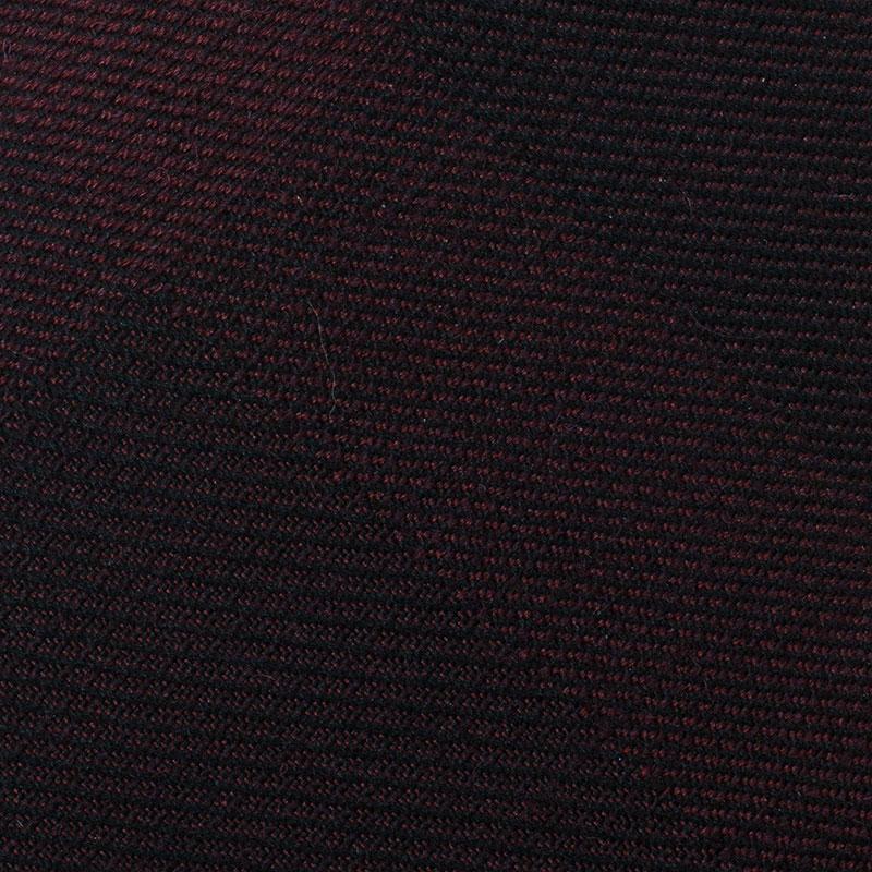 Burberry Burgundy Nova Check Silk Tie
